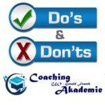 Dein Leben verändern – 9 Do's & Don'ts für dein persönliches Wachstum